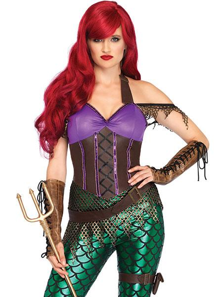 Women's 3 pc. Rebel Mermaid Costume by Leg Avenue