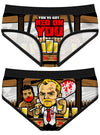 "Women's ""Red On You"" Period Panties by Harebrained!"