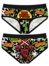 "Women's ""Red Pool"" Period Panties by Harebrained!"