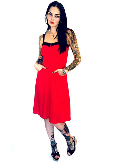 Women's Swing Dress by Switchblade Stiletto