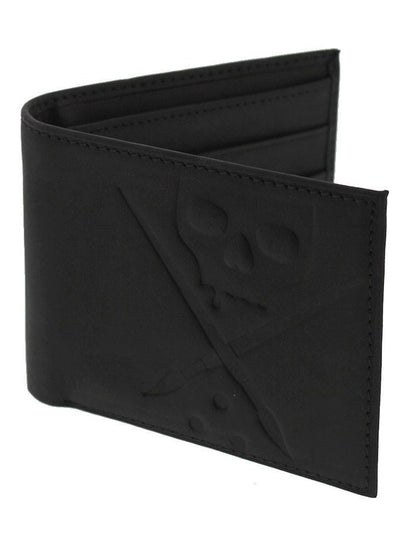 "Men's ""Reign"" Leather Wallet by Sullen (Black)"