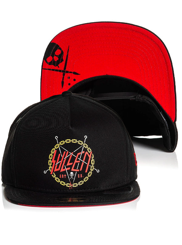 Reign Snapback Hat by Sullen
