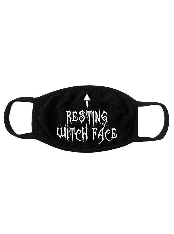 Resting Witch Face Mask