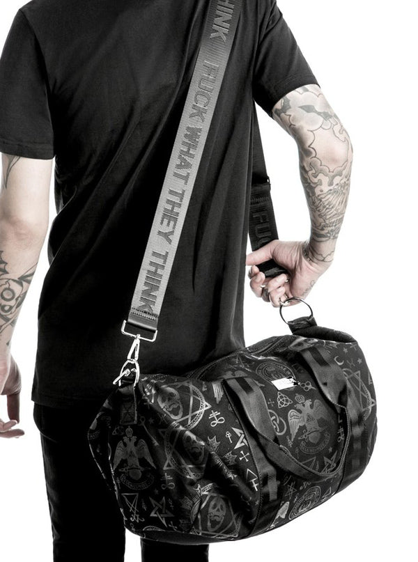 """Resurrection"" Duffle Bag by Killstar (Black)"