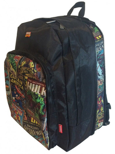 """Retro Comic"" Student Backpack by Marvel (Multi) - www.inkedshop.com"