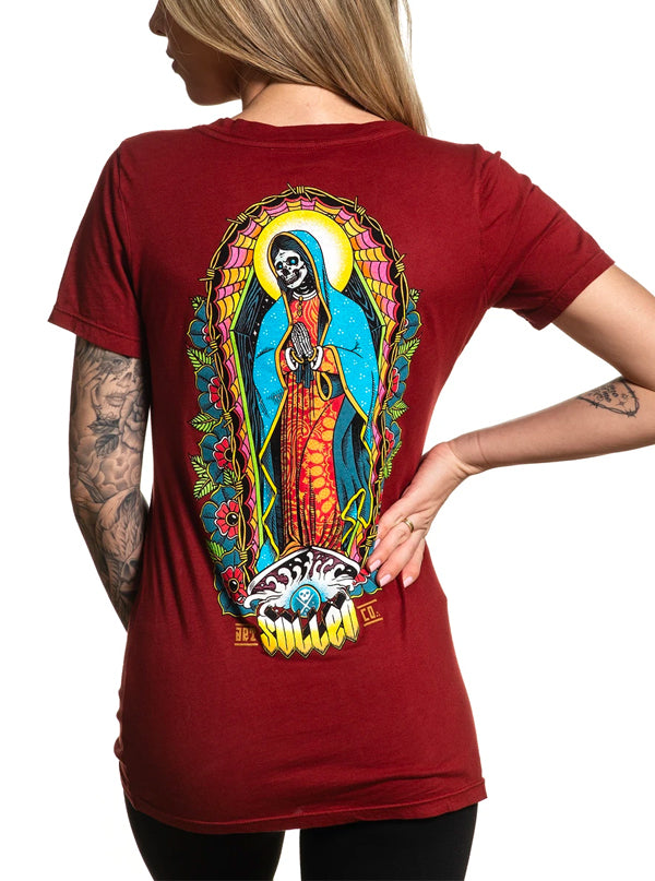 Women's Reza Por El Surf Tee by Sullen
