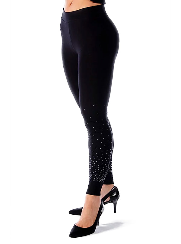 Women's Rhinestone Gradient Leggings by Liberty Wear