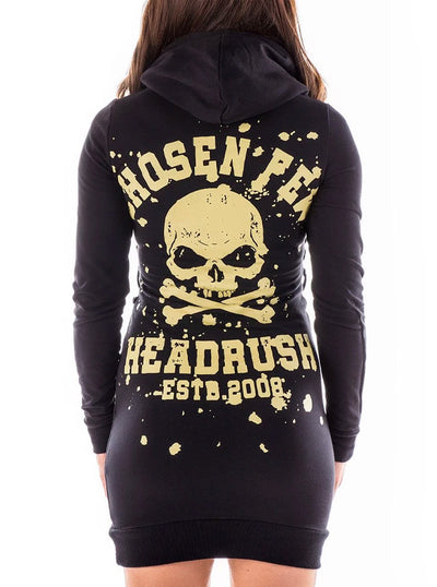 Women's Ring Ring Hoodie Dress by Headrush Brand