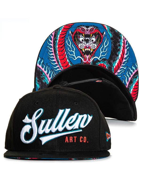 Ring of Fire Snapback Hat by Sullen