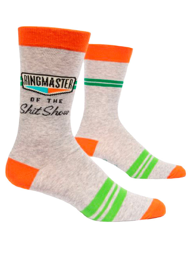 Men's Men's Ringmaster of the Shit Show Crew Socks