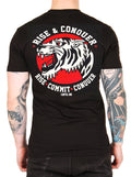 "Men's ""Rise and Conquer"" Tee by Cartel Ink (Black)"