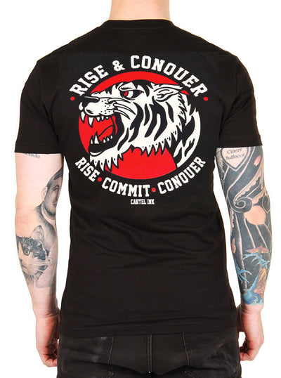 Men's Rise and Conquer Tee by Cartel Ink