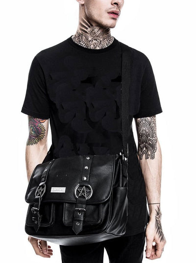 Ritual Ring Messenger Bag by Killstar