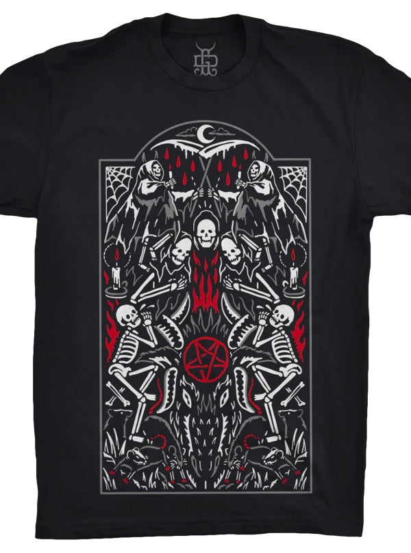 Unisex Ritual Tee by Ghost and Darkness