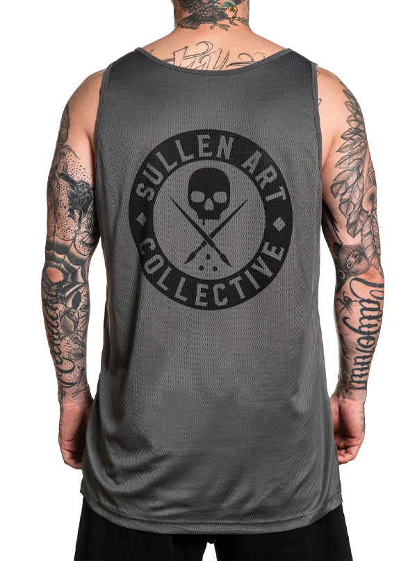 Men's River Mesh Tank by Sullen
