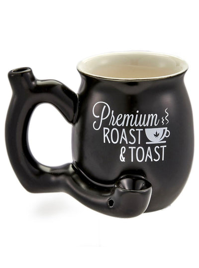 Premium Roast & Toast Ceramic Pipe Mug
