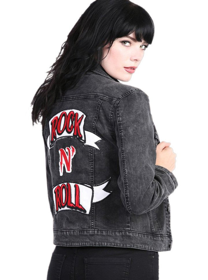 Rock roll clothing store
