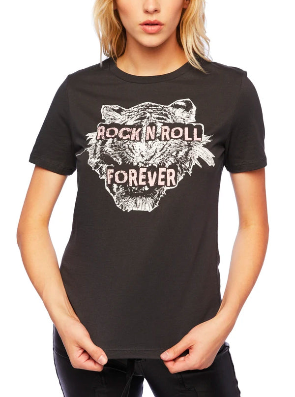 Women's Rock'N'Roll Forever Tee by Pretty Attitude Clothing