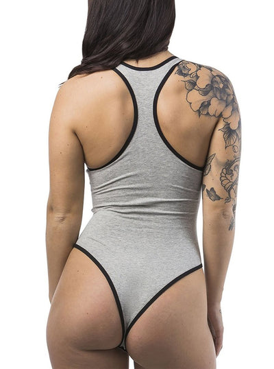 Women's Rockford Racer Back Bodysuit by Headrush Brand