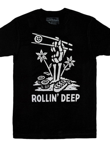 "Men's ""Rollin Deep"" Tee by Pyknic (Black) - www.inkedshop.com"