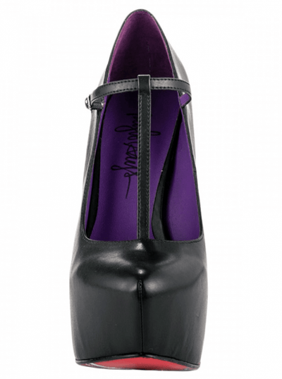 """Rootsy"" Heels by Taylorsays (Black) - www.inkedshop.com"