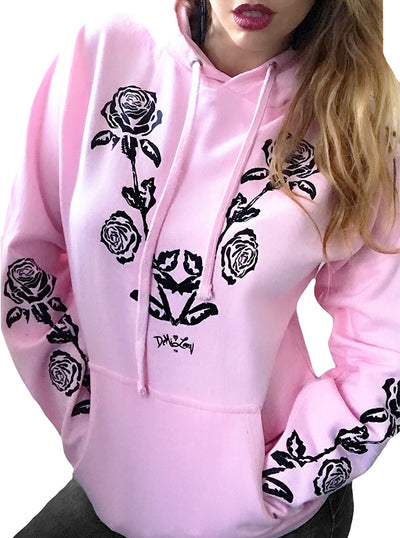 Women's Nashville Rose Hoodie by Demi Loon