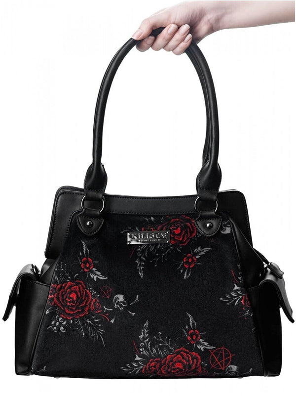Rosalia Velvet Handbag by Killstar
