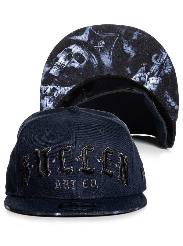 Rough Waters Snapback Hat by Sullen