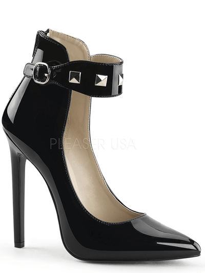 "Women's ""Sexy 31"" Heels by Pleaser (Black) - www.inkedshop.com"