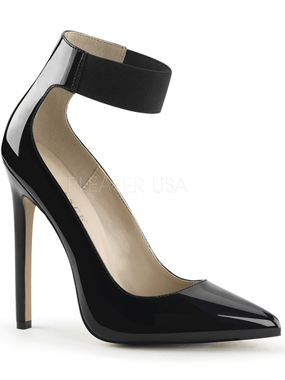 "Women's ""Sexy 33"" Heels by Pleaser (Black) - www.inkedshop.com"