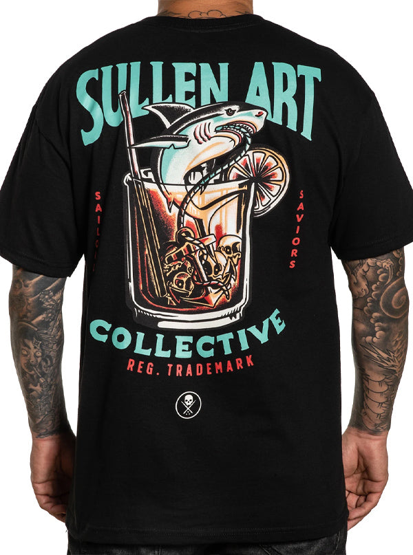 Men's Sailors Water Tee by Sullen