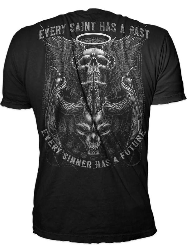 Men's Every Sinner and Saint Tee by Lethal Threat