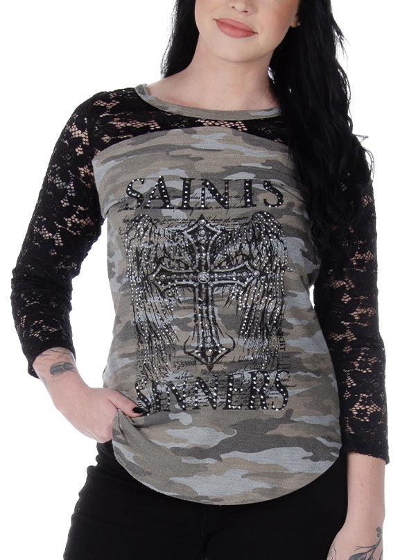 Women's Saints and Sinners Thermal by Liberty Wear