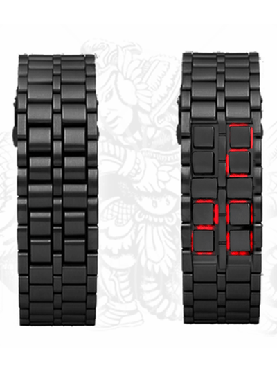 """Samurai Inferno"" Watch by Fandom Planet - www.inkedshop.com"