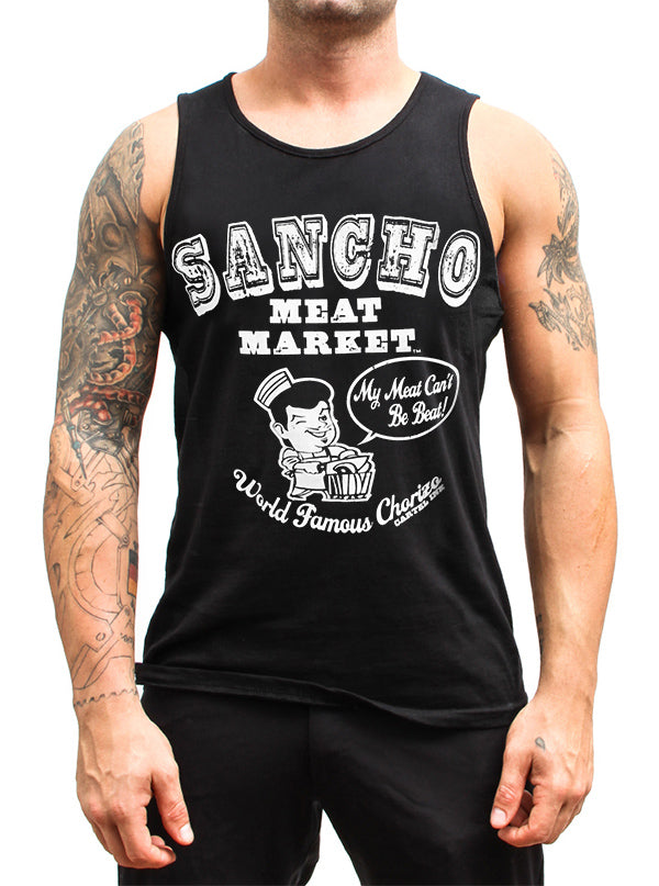 Men's Sancho Meat Market Tank by Cartel Ink