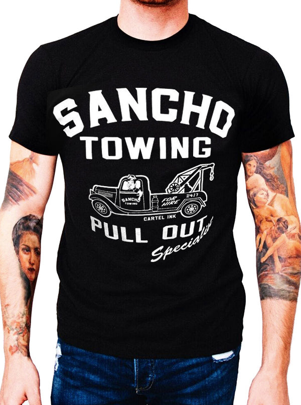 Men's Sancho Towing Tee by Cartel Ink