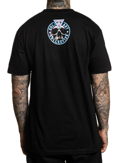 Men's Black Sanchez Tee by Sullen