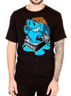 "MEN'S ""SARDINES"" TEE BY SKELLY & CO (BLACK)"