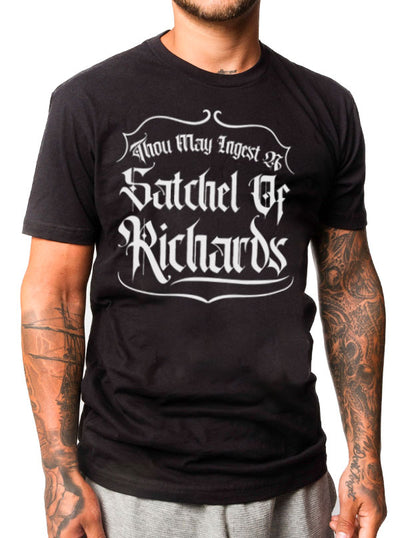 Unisex Satchel of Richards Tee by Dirty Shirty