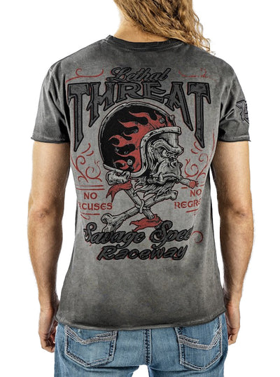 Men's Savage Speed Tee by Lethal Threat