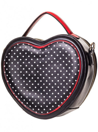 "Women's ""A Different Feeling"" Handbag by Banned Apparel (Black) - www.inkedshop.com"