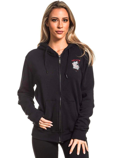 Women's Tip the Scales Zip Hoodie by Sullen