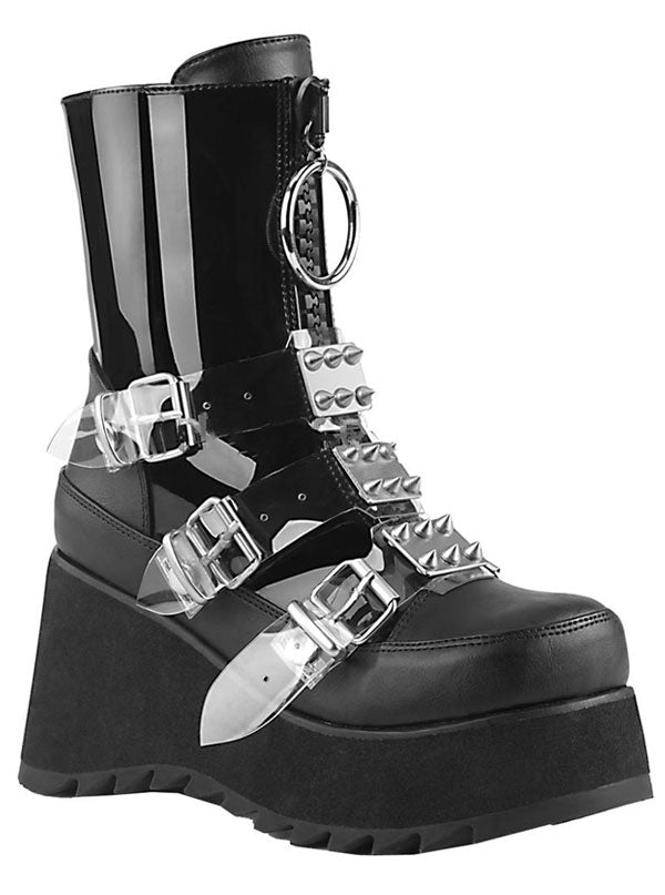 Women's Scene 51 Platform Boots by Demonia