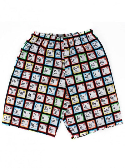 "Boys ""Scientific Elements"" Shorts by Hemet (Black) - www.inkedshop.com"