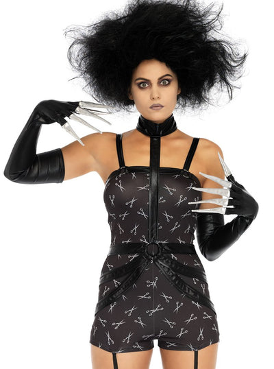 Women's Creepy Scissor Sweetie Costume by Leg Avenue