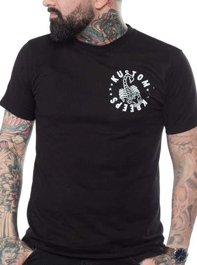 Men's Scorpion Tee by Kustom Kreeps