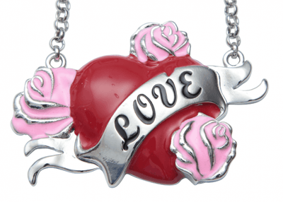 Tattooed Love Necklace by Kitsch 'n' Kouture - InkedShop - 1