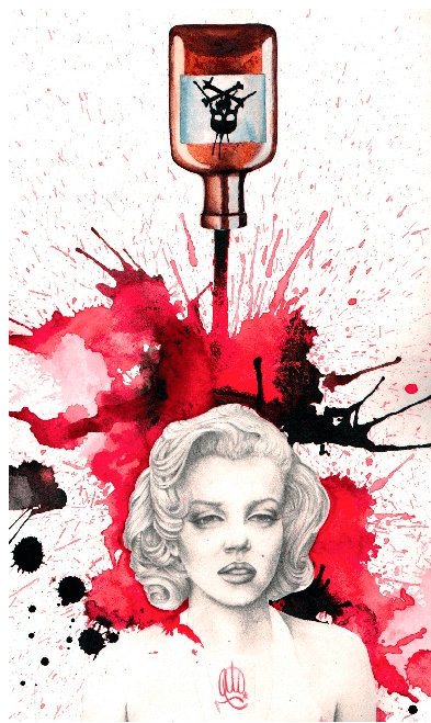 Poisoned Marilyn by Christina Ramos - InkedShop - 1