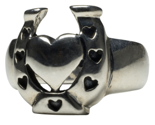 Lucky N Love Ring by Femme Metale - InkedShop - 2