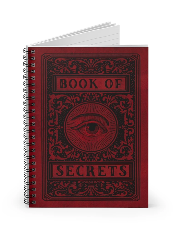 Book of Secrets Notebook by Trixie & Milo